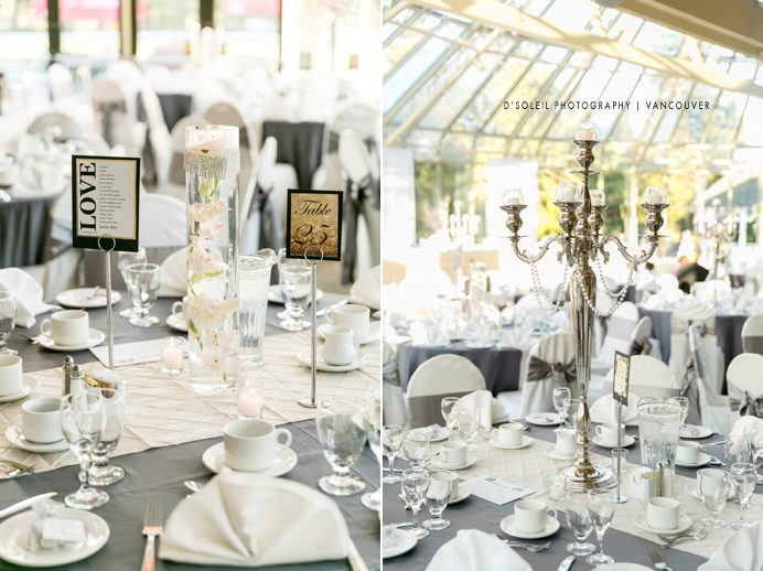 Newlands Golf wedding decor