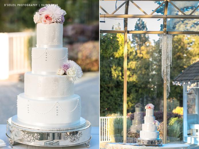 Newlands Golf wedding cake