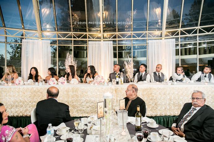 Wedding toasting at Newlands Golf Club