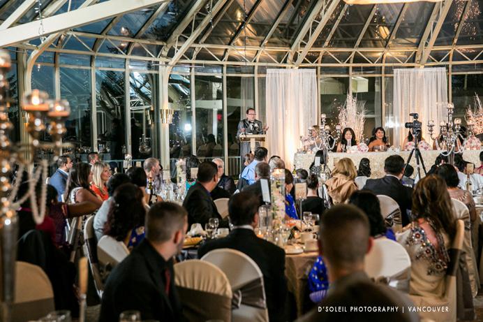 Newlands Golf Club wedding reception room