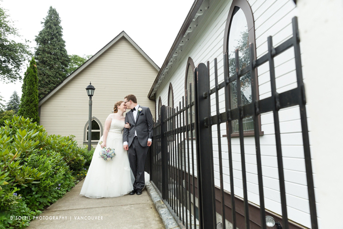 Fort langley church wedding