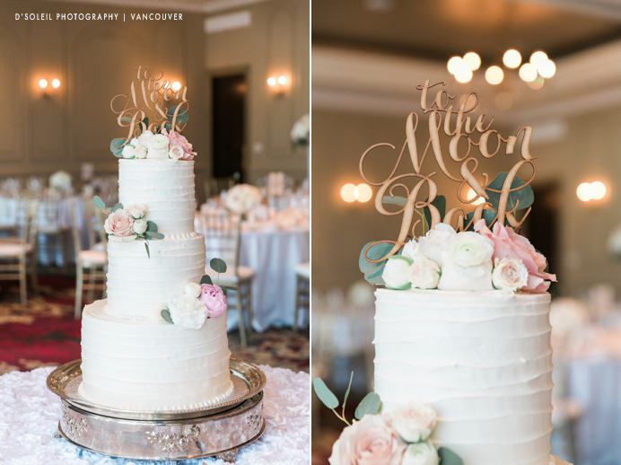 Wedding cakes in Vancouver