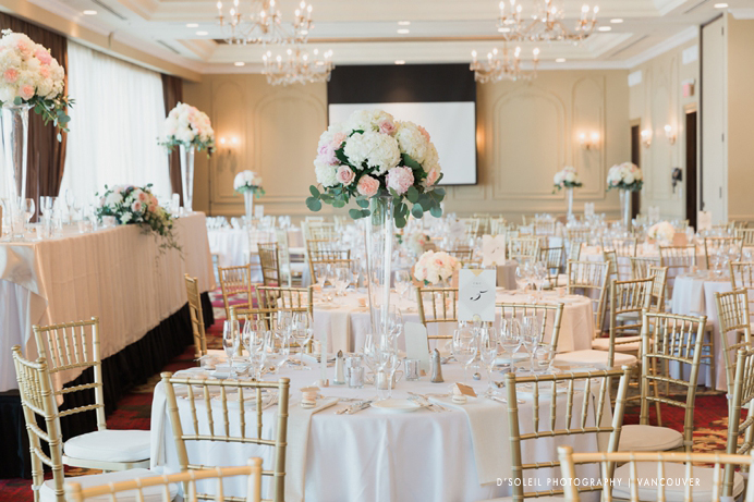 Terminal City Club ballroom wedding