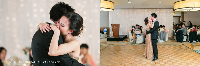 First dance at Arbutus Room Four Seasons Vancouver