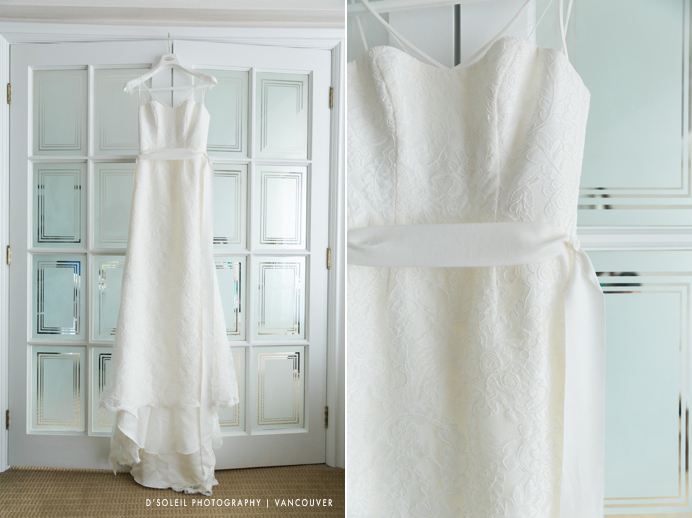 Four Seasons wedding dress
