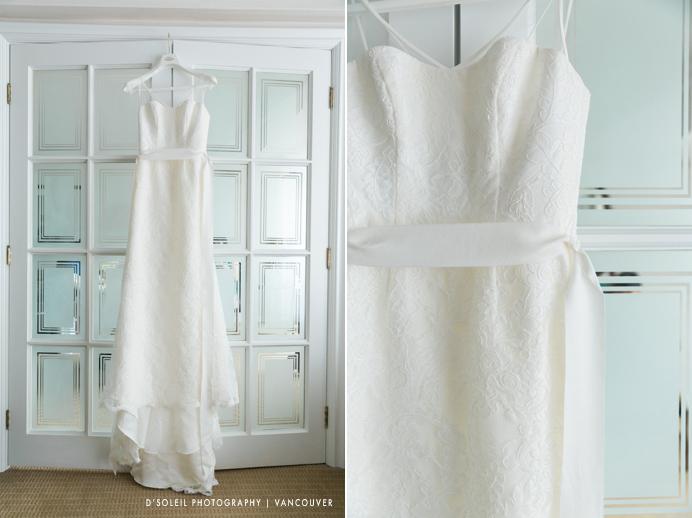 Four Seasons wedding dress