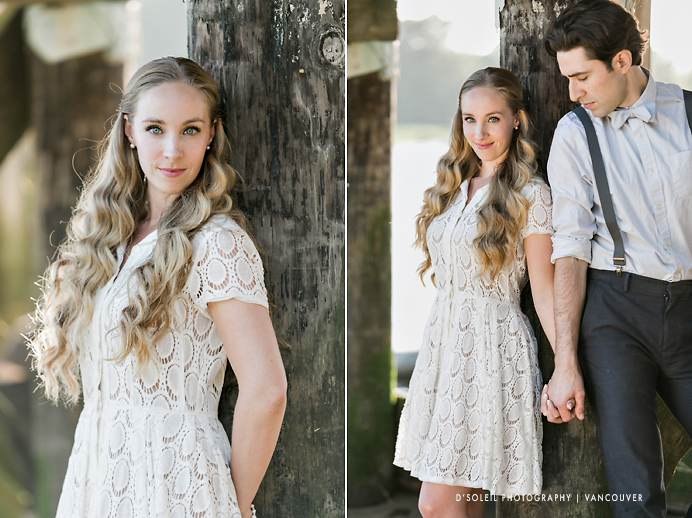Vintage engagement sessions