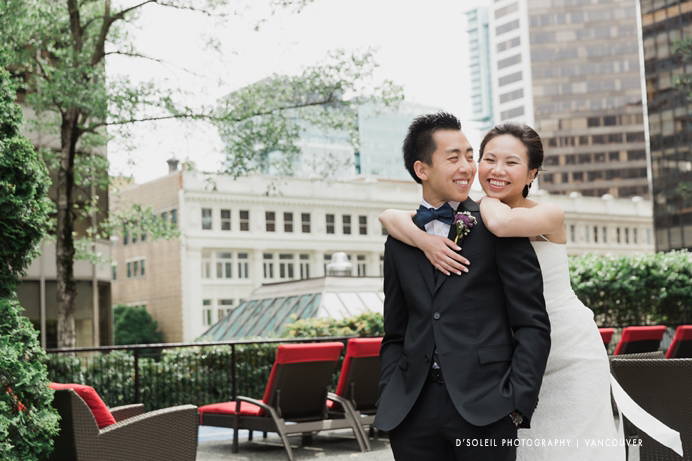 Four Seasons wedding in Vancouver