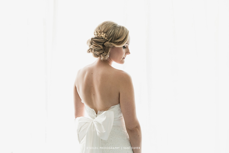 Bride at Granville Island Hotel