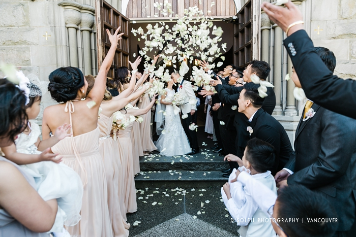 Booking a Holy Rosary Cathedral wedding ceremony