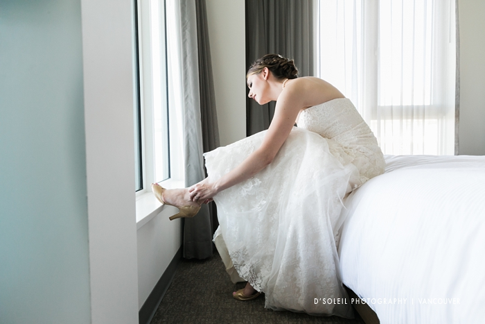 Elements Hotel wedding