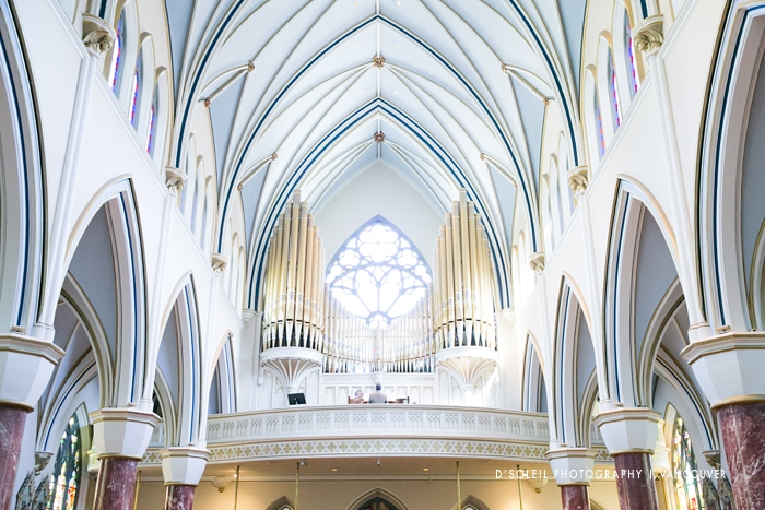 Holy Rosary Cathedral wedding venue in Vancouver