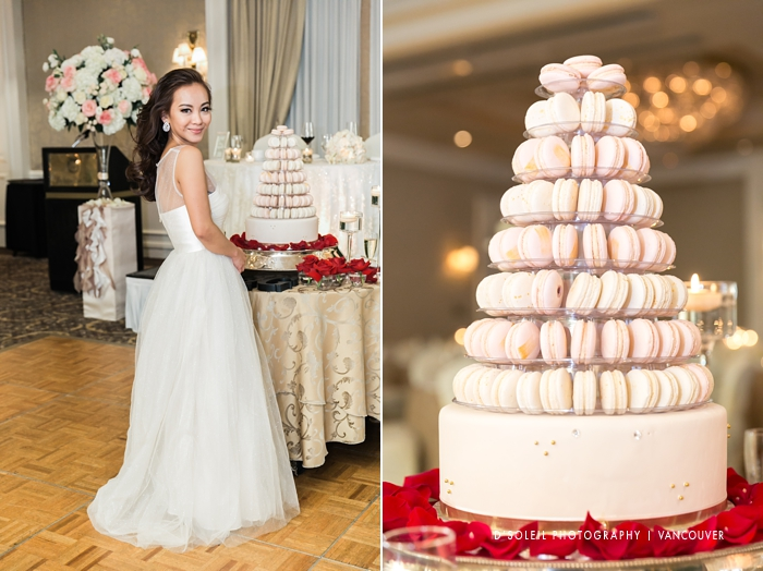 Macaroon wedding cake