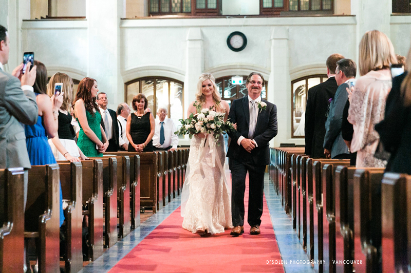 St. Andrew Wesley wedding processional