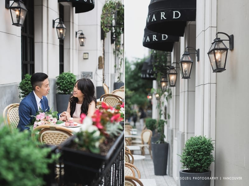 Engagement session at Sutton Place Boulevard Kitchen & Oyster Bar