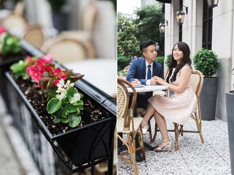 Parisian engagement session in Vancouver