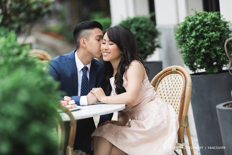 styled engagement session