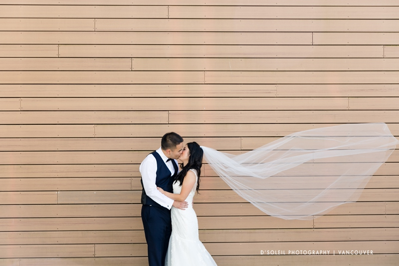 Bride and groom photos at Convention Centre