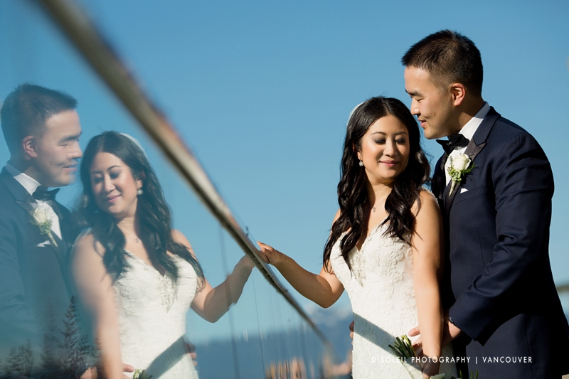 Wedding photos in Coal Harbour Vancouver