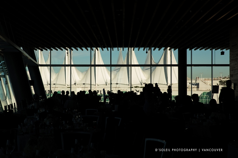 Vancouver convention center wedding ballroom