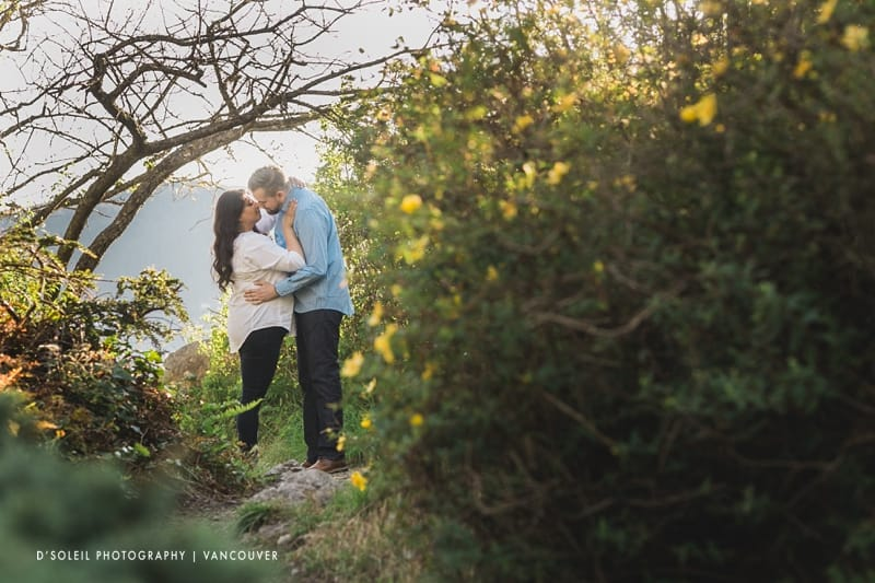 West Vancouver parks for engagement session