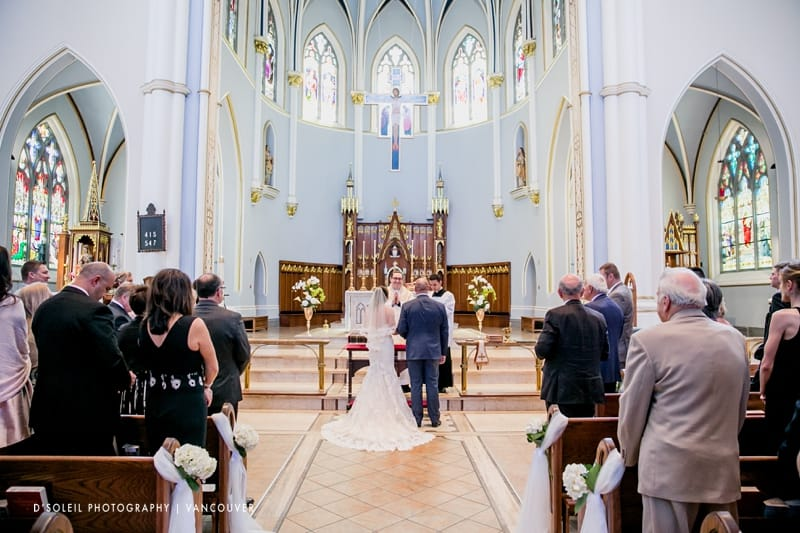 Holy Rosary Cathedral catholic ceremony