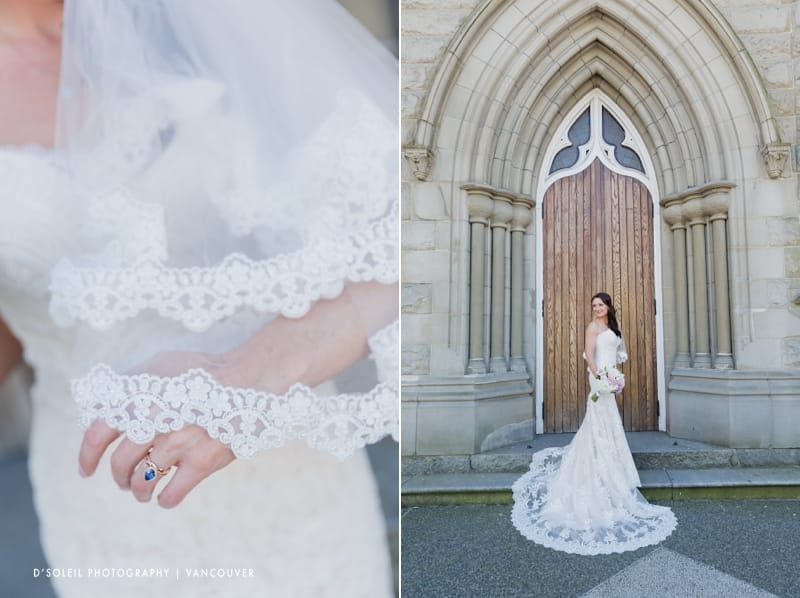 Holy Rosary Cathedral wedding