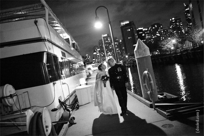 Vancouver boat cruise wedding | Sunset Bay Yacht Charters