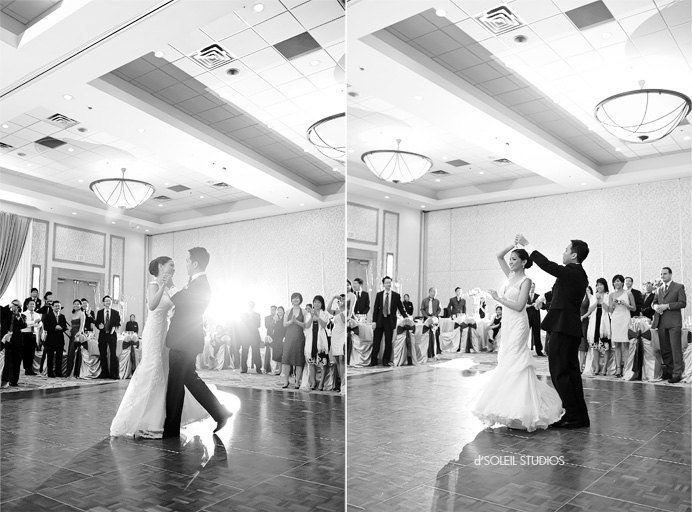 First dance: A Vancouver Marriot Pinnacle wedding