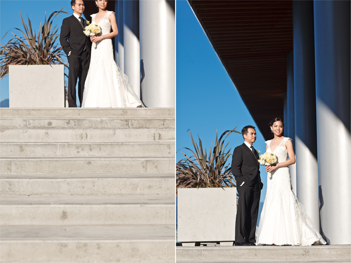 Vancouver convention centre wedding photos