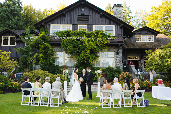 Vancouver Wedding Ceremony At Stanley Park Pavilion