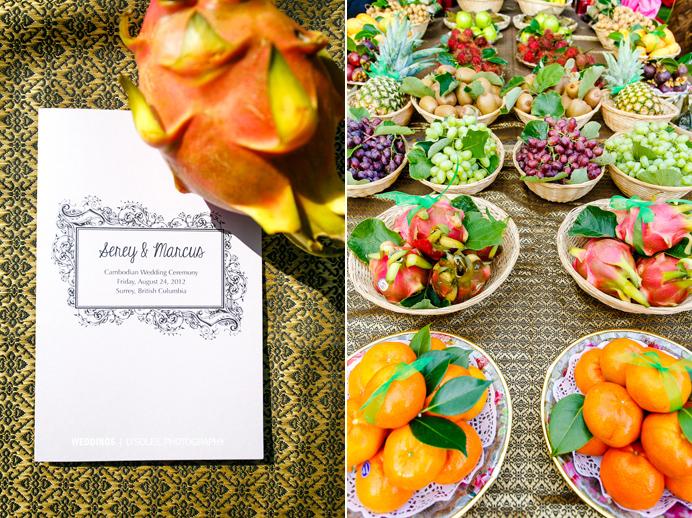 Cambodian Wedding Invitation