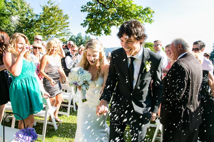 Outdoor wedding ceremony venues in Vancouver