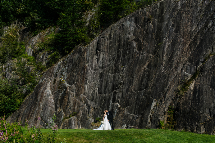 Furry Creek Wedding by Vancouver wedding photographer