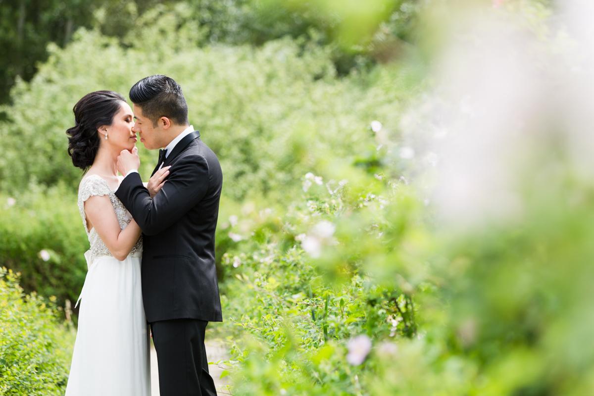 Shiang Garden and Vancouver Unitarian wedding