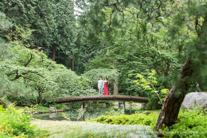 Nitobe Garden wedding photo