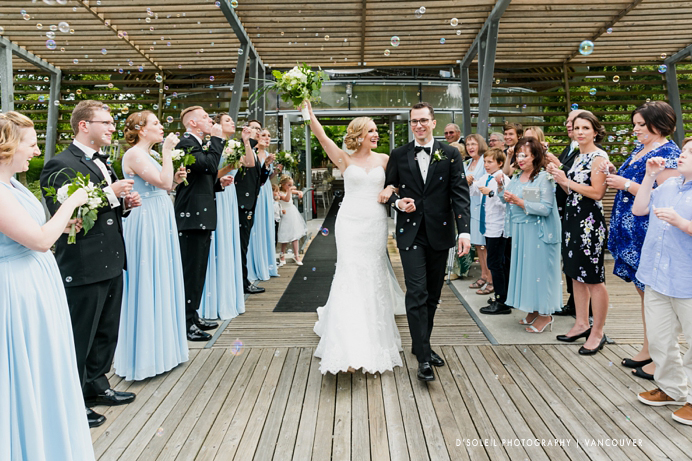 Dockside Restaurant wedding and Celebration Pavilion Ceremony