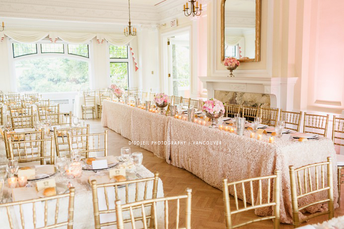 Cecil Green wedding reception cost