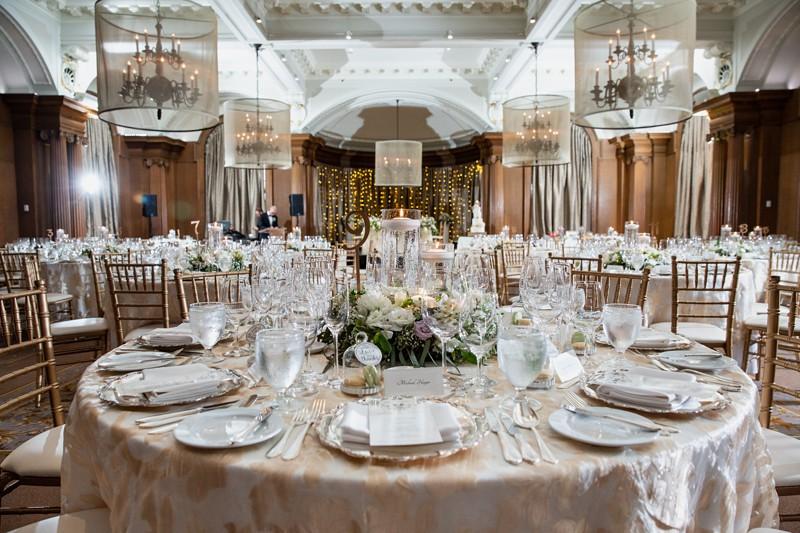 Wedding venues Vancouver Club ballroom